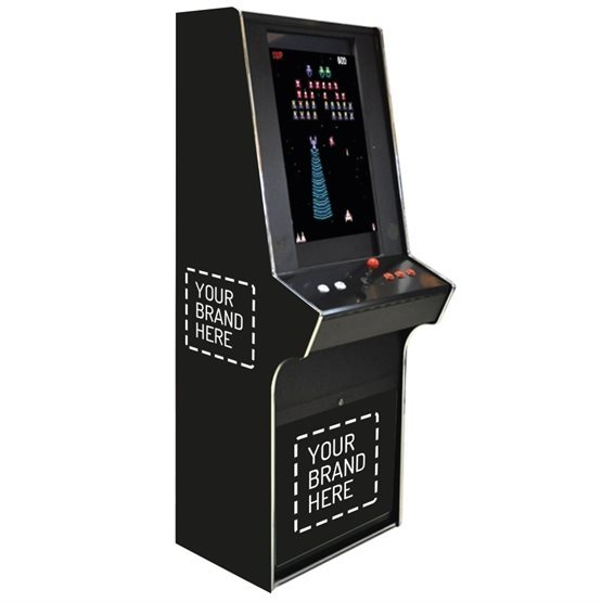 Fully branded arcade machines for hire