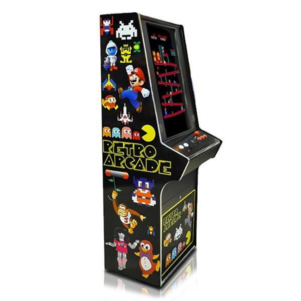 80s Multi Game Cabinet