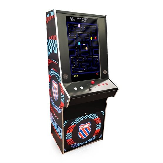 80s multi game arcade machine fully branded for rent