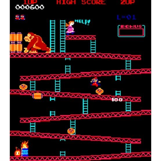 Donkey Kong gameplay screenshot