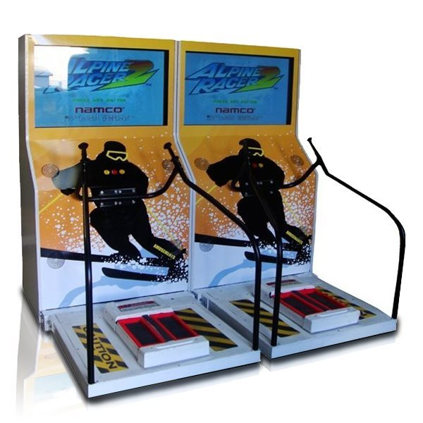 2 Player Apline Racer ski simulator for hire