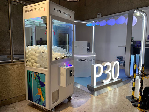 Huawei branded claw machine