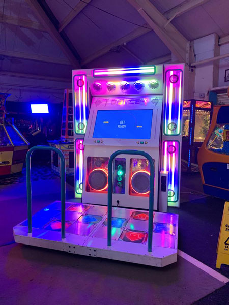 Bespoke dance stage arcade machine for hire